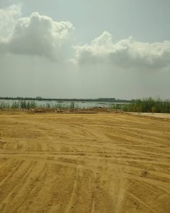land for sale in ogombo lekki. This land is dry and secured